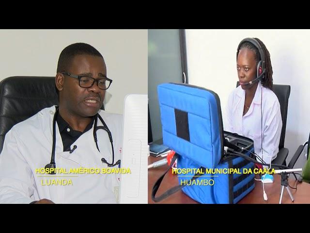 Compensações do ANGOSAT-1: Telemedicina