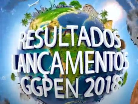 LANÇAMENTOS GGPEN 2018