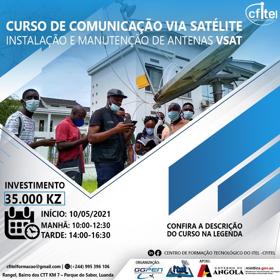 Curso de Comunicação Via Satélite – Instalação e Manutenção de Antenas VSAT