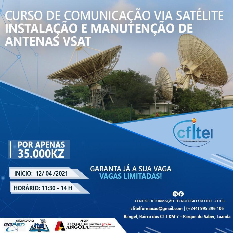 Curso de Comunicação Via Satélite (VSat)